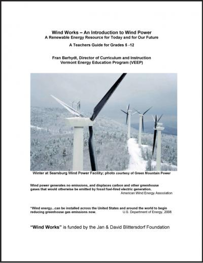cover of Wind Works curriculum